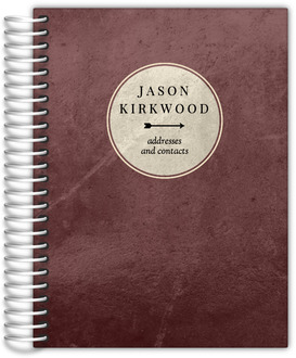 Distressed Arrow Address Book