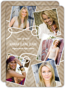 Kraft Selfie Expression Graduation Announcement