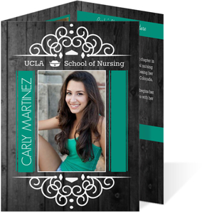 Trifold graduation announcements and invitations tri fold graduation announcements filmwisefo Gallery