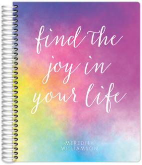 Colorful Joy Travel Journal 8.5x11