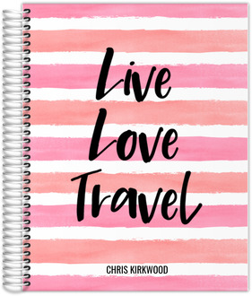 Live Love Travel Journal 8.5x11