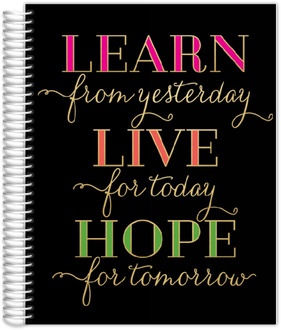 Learn Live Hope Custom Journal 8.5x11