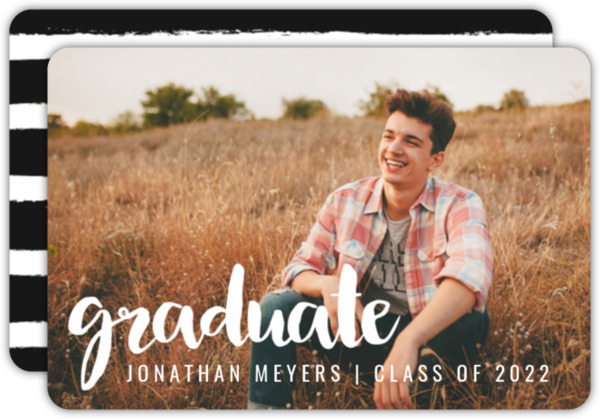 Simple Overlay Graduation Announcement