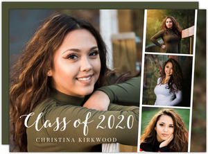 Movie Strip Photos Graduation Invitation