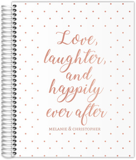 Happily Ever After Real Foil Wedding Planner