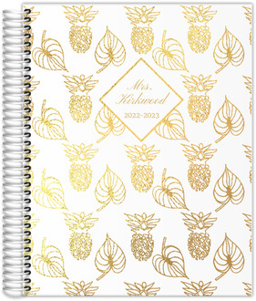 Wild Pineapple Teacher Planner