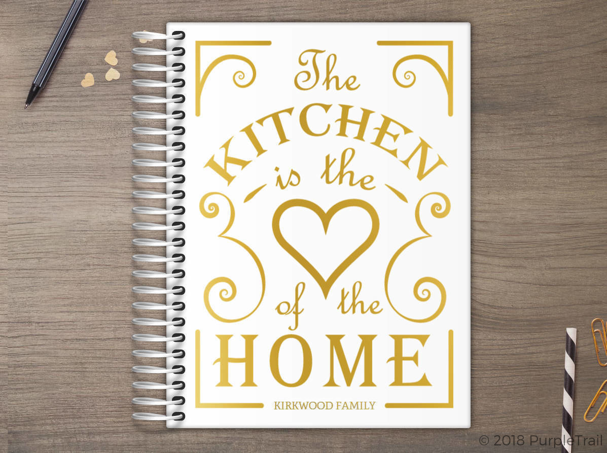 Heart Of The Home Real Foil Meal Planner