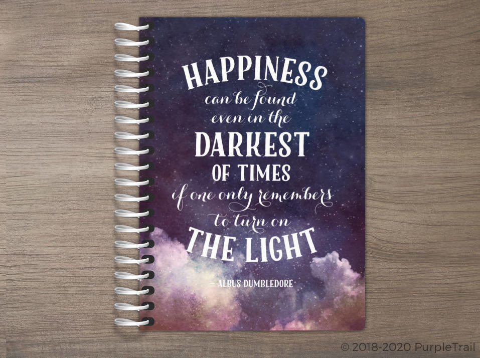 Turn on the Light Quote Tiny Planner