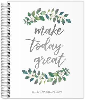 Make Today Great Real Foil Daily Planner