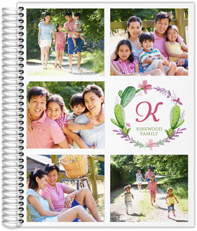 Organized Photo Grid Mom Planner 8.5x11