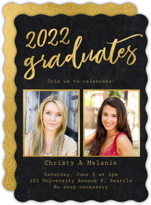 Scripted Graduates Graduation Announcement