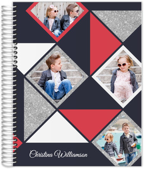 Modern Square & Triangle Mom Planner