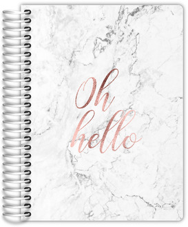Oh Hello Faux Rose Gold Mom/Family Planner