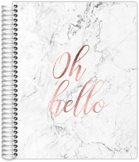Oh Hello Faux Rose Gold Mom/Parent Planner