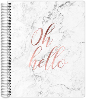 Oh Hello Faux Rose Gold Mom/Parent Planner 8.5x11