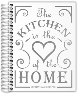 Heart Of The Home Real Foil Recipe Journal