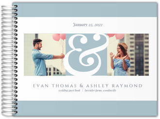 Elegant Ampersand Wedding Guest Book