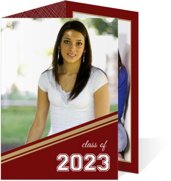 Varsity Style Graduation Announcements