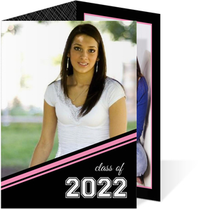 Varsity Style Graduation Announcements