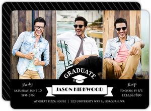 Hollywood Style Graduation Invitation