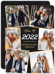 Multi Framed Photo Graduation Announcement