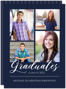Simple Collage Script Join Graduation Invitation