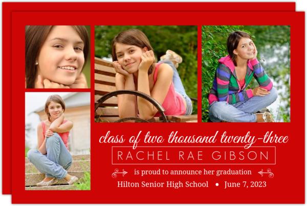 Black Photo Collage Announcement