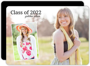 Picture Perfect Graduation Announcement