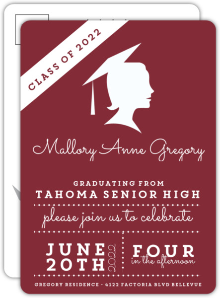 Team Spirit Graduation Invitation