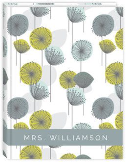 Modern Dandelion Pattern Wedding Planner