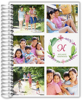 Organized Photo Grid Monthly Planner