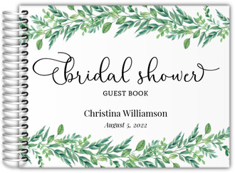 Gorgeous Greenery Bridal Shower Guest Book