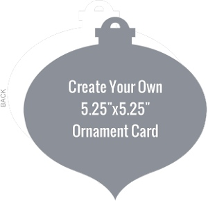 Ornament Blank Card