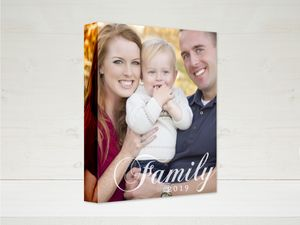 Family Tradition Canvas 8x10