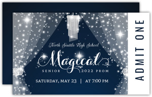 Magical Night Crystal Prom Ticket