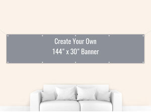 Create Your Own 144x30 Banner