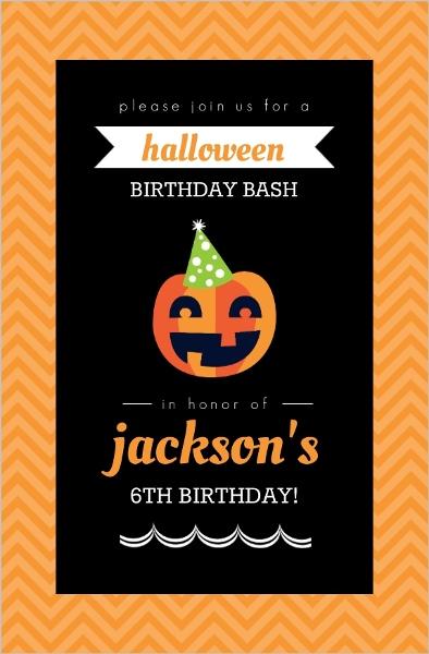 Party pumpkin halloween birthday invitation halloween birthday party pumpkin halloween birthday invitation filmwisefo