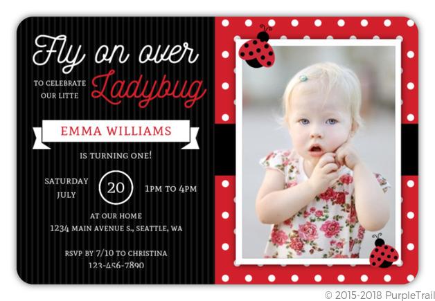 Fly on over ladybug birthday invitation ladybug birthday invitations fly on over ladybug birthday invitation filmwisefo