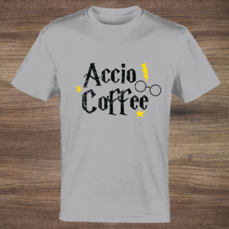 Accio Coffee Custom Tshirt