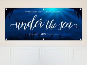 Deep Under the Sea Prom Banner