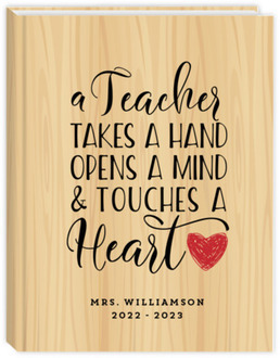 Teacher Touches Hearts Teacher Planner