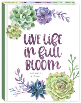Succulent Pattern Quote Mom Planner