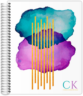 Abstract Watercolor Art Daily Planner