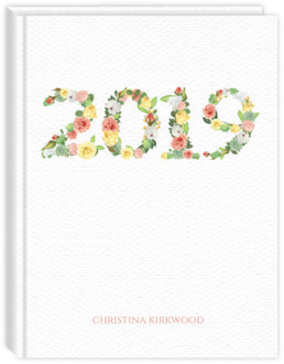 Spring Floral Year Daily Planner