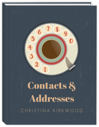 retro dial phone address book