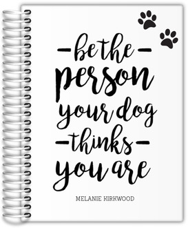Dog Person Daily Planner