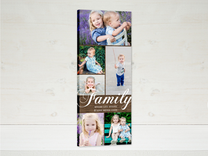 Woodgrain Family Canvas Print