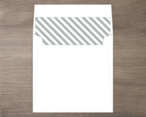 Grey Stripes Envelope Liner