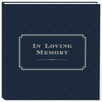 In Loving Memory Traditional Guest Book