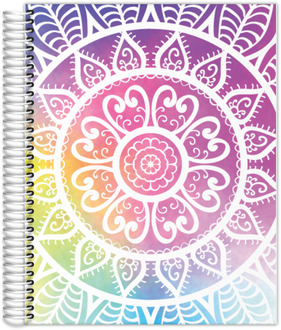 Colorful Mandala Teacher Planner